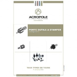 Catalogue Porte outils à Etamper - Brocher